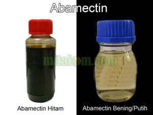 abamectin hitam dan abamectin putih