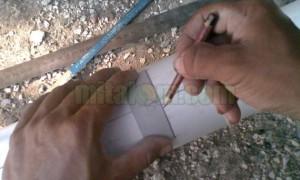 membuat vertikultur pipa paralon