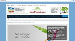 website pertanian organik