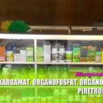 Merk Dagang Insektisida Golongan Karbamat, Organofosfat, Piretroid(Piretrin) dan Organoklorin