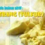 Daftar Merk Dagang Fungisida Bahan Aktif Sulfur Belerang